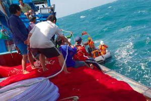 Hai tàu đâm nhau ở biển Vũng Tàu, 1 người chết, một người mất tích