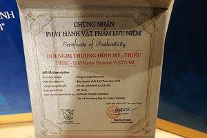 Phát hành 300 đồng bạc hình hoa sen nhân Hội nghị Thượng đỉnh Mỹ- Triều Tiên