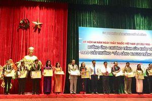 Đà Nẵng trao giải thưởng 'Tỏa sáng Blouse trắng' 2018 cho 20 cá nhân