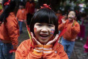 Trường mẫu giáo Việt Triều háo hức chào đón Chủ tịch Kim Jong Un