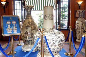 5 dòng sản phẩm gốm Chu Đậu làm quà tặng được trưng bày nhân Hội nghị thượng đỉnh Mỹ - Triều