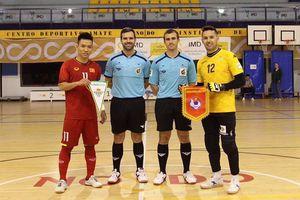 Đội tuyển futsal Việt Nam hòa Real Betis