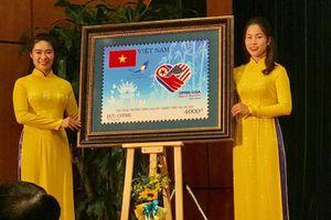 Cánh chim hòa bình trong Bộ tem đặc biệt chào mừng Hội nghị thượng đỉnh Mỹ - Triều