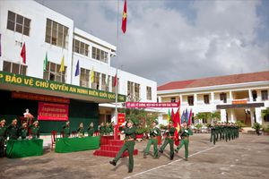 Sôi nổi lễ ra quân huấn luyện tại các đơn vị BĐBP