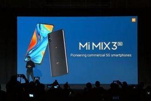 Xiaomi Mi MIX 3 5G ra mắt, thiết kế trượt từ tính