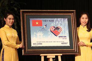 Phát hành bộ tem mừng thượng đỉnh Mỹ-Triều