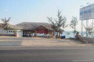 Kiểm tra vụ nhà hàng xây trên bãi biển mà Báo phản ánh