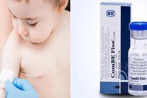 Bình Định: Dừng tiêm vắc xin ComBE Five sau khi 1 cháu bé tử vong