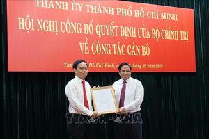 Điều động đồng chí Trần Lưu Quang làm Phó Bí thư Thường trực Thành ủy TP Hồ Chí Minh