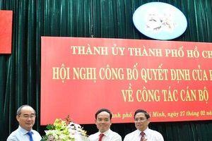 Ông Trần Lưu Quang làm Phó Bí thư Thường trực Thành ủy TP.HCM thay ông Tất Thành Cang