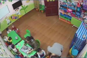 Trẻ bị đánh tím mặt ở lớp: Đóng cửa mầm non Happy Stars