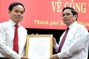 Ông Trần Lưu Quang làm Phó bí thư Thường trực TP HCM