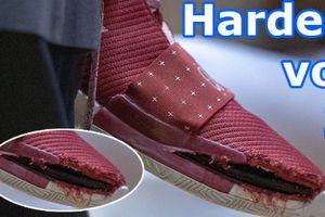 Sau Nike, đến lượt Adidas gặp sự cố rách giày Harden Vol. 3 ở NCAA