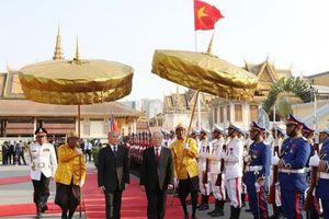 Gìn giữ và phát triển mối quan hệ hữu nghị, hợp tác toàn diện Việt Nam-Campuchia