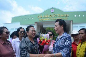 Hội Phụ nữ Campuchia vì Hòa bình và Phát triển kết thúc tốt đẹp chuyến thăm hữu nghị Việt Nam