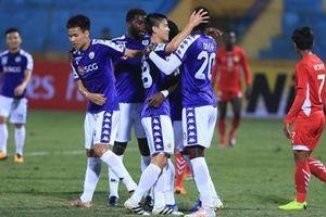 CLB Hà Nội lập kỉ lục tại AFC Cup sau thắng lợi 10-0 trước Naga World