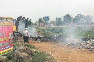 Ba Đồn (Quảng Bình): Xã ngoại thị lúng túng trong việc tập trung xử lý rác thải