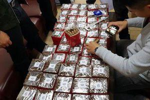 Một vạn điếu xì gà vô chủ đáp sân bay Nội Bài, nửa năm chưa có người nhận
