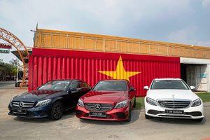 Dòng ô tô C-Class phiên bản mới xuất hiện tại Việt Nam