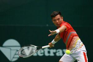 Hoàng Nam dự giải quần vợt chuyên nghiệp Việt Nam 2019