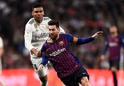 Barca bắt kịp thành tích thắng tại El Clasico của Real