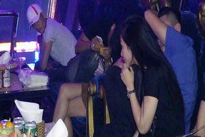 20 cô gái dương tính với ma túy trong quán bar Gossip ở Cà Mau