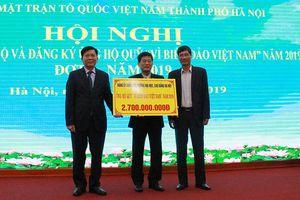 Hơn 8,2 tỷ đồng ủng hộ Quỹ 'Vì biển đảo Việt Nam'