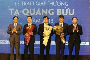 Đề cử 8 nhà khoa học được Giải thưởng Tạ Quang Bửu 2019