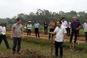 Cách làm sáng tạo trong dồn đổi ruộng đất ở Thanh Ba
