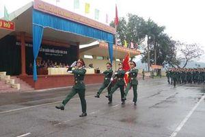 Các đơn vị tổ chức Lễ ra quân huấn luyện năm 2019