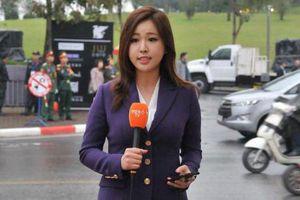 Ngã ngửa 'thân thế' nữ phóng viên xinh đẹp tác nghiệp tại Thượng đỉnh Mỹ-Triều