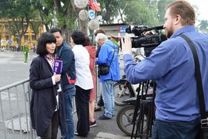 Phóng viên quốc tế: Công tác tổ chức Hội nghị thượng đỉnh Mỹ - Triều Tiên lần 2 của Việt Nam vượt sự mong đợi