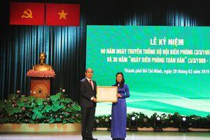 Đồng chí Nguyễn Thiện Nhân dự Lễ kỷ niệm 60 năm Ngày Truyền thống BĐBP và 30 năm Ngày Biên phòng toàn dân