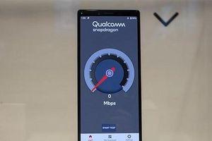 Hình ảnh nguyên mẫu smartphone 5G đầu tiên của Sony tại MWC 2019