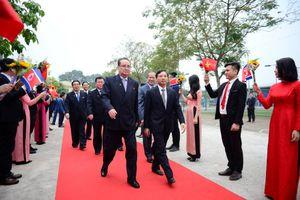 Phái đoàn Triều Tiên thăm tập đoàn Viettel
