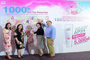 Nu Skin Việt Nam quyên góp được hơn 2 tỷ đồng vào Quỹ Phẫu Thuật Tim cho trẻ em Việt Nam