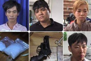 Đột kích nơi ở đầu nậu ma túy, thu giữ số lượng lớn 'hàng trắng' và súng