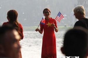 Không khí nóng từng giờ trước Hội nghị thượng đỉnh Mỹ-Triều Tiên