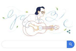 Nhạc sĩ Trịnh Công Sơn-nghệ sĩ Việt Nam đầu tiên được tôn vinh trên Google Doodles
