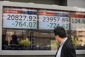 Thị trường chứng khoán thế giới ngập sắc đỏ