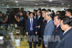 Phái đoàn cấp cao của Triều Tiên đến thăm tổ hợp nghiên cứu, sản xuất của Viettel