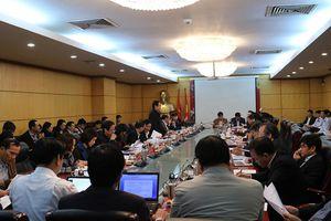 Tổ công tác của Thủ tướng Chính phủ kiểm tra hoạt động công vụ tại Bộ TN&MT