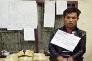 Bộ đội biên phòng phục kích bắt được một đối tượng vận chuyển ma túy số lượng lớn