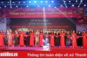 Từng bừng đêm khai mạc 'Tuần văn hóa TP Thanh Hóa - TP Hội An' lần thứ III - năm 2019