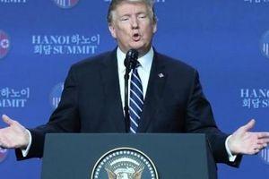 Tổng thống Mỹ Donald Trump lý giải việc chưa ký thỏa thuận với Triều Tiên