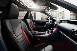 Lexus IS 300 F Sport thêm phiên bản đặc biệt Black Line