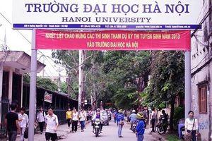 Chỉ tiêu tuyển sinh năm 2019 của Đại học Hà Nội