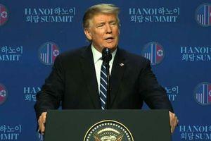 Tổng thống Donald Trump họp báo sau Hội nghị Thượng đỉnh Hoa Kỳ - Triều Tiên