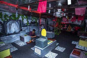 Rợn người với không gian cà phê phong cách âm phủ tại TP.HCM