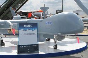 Ấn Độ mua UAV tối tân Israel trong tình hình nóng